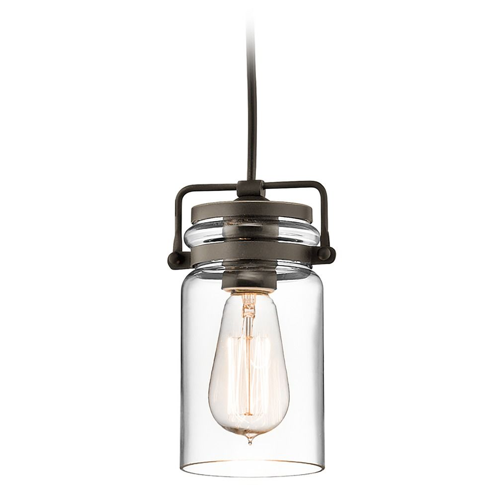 Kichler Lighting Brinley Olde Bronze Mini Pendant Light