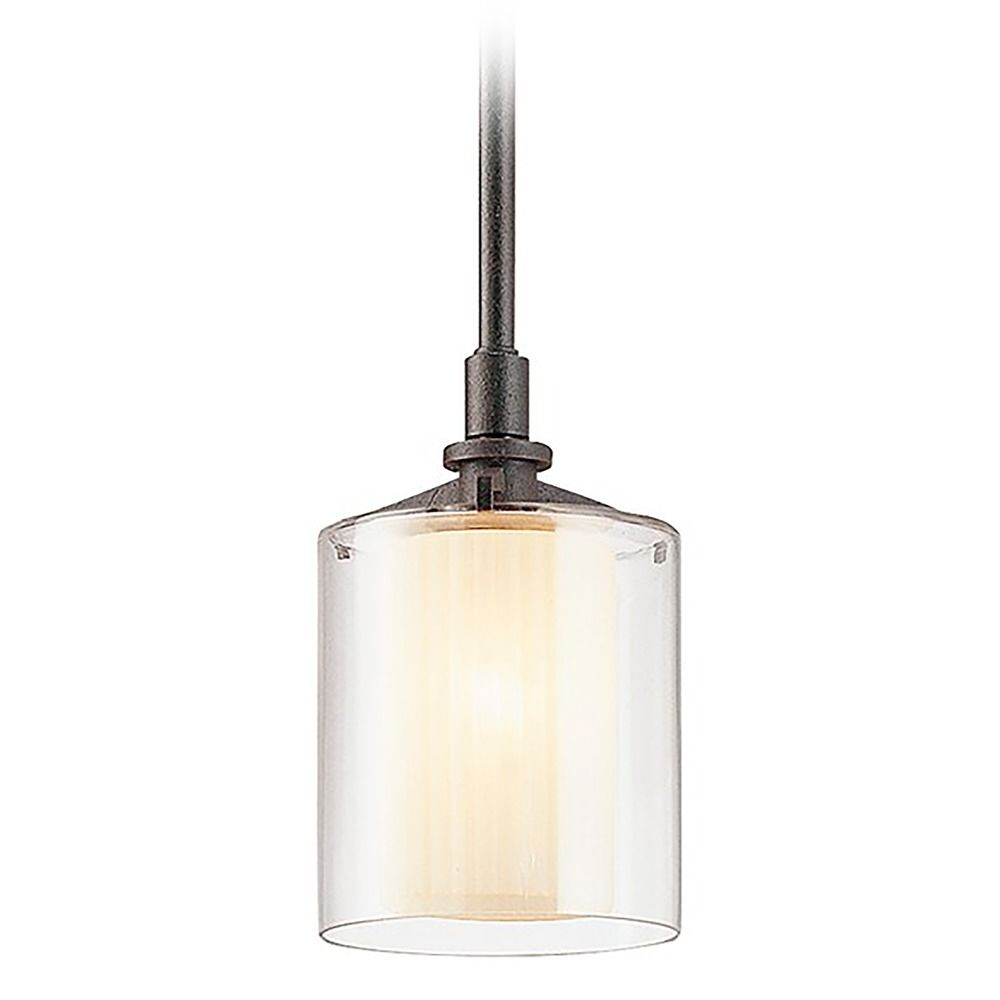 mini pendant light with clear glass f1719fr