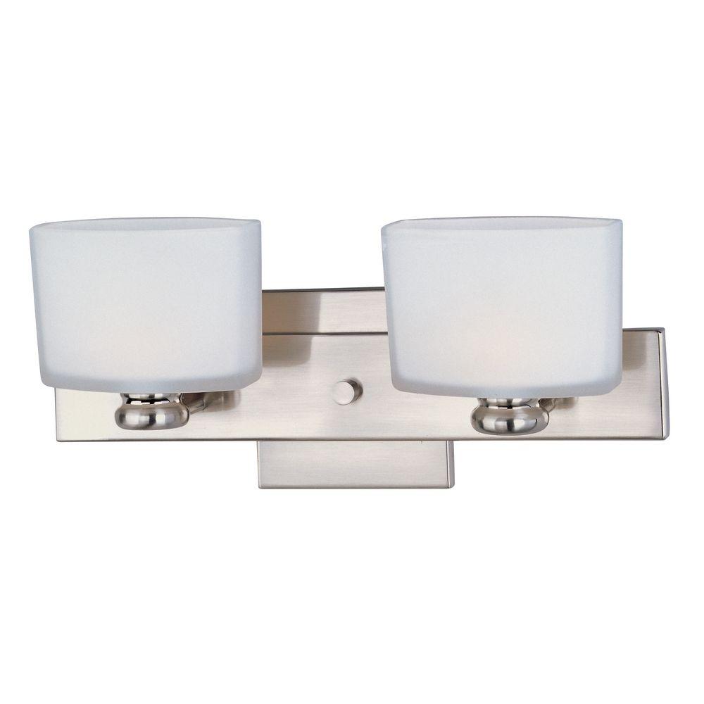 Maxim Lighting Essence Satin Nickel Bathroom Light 9002swsn Destination Lighting