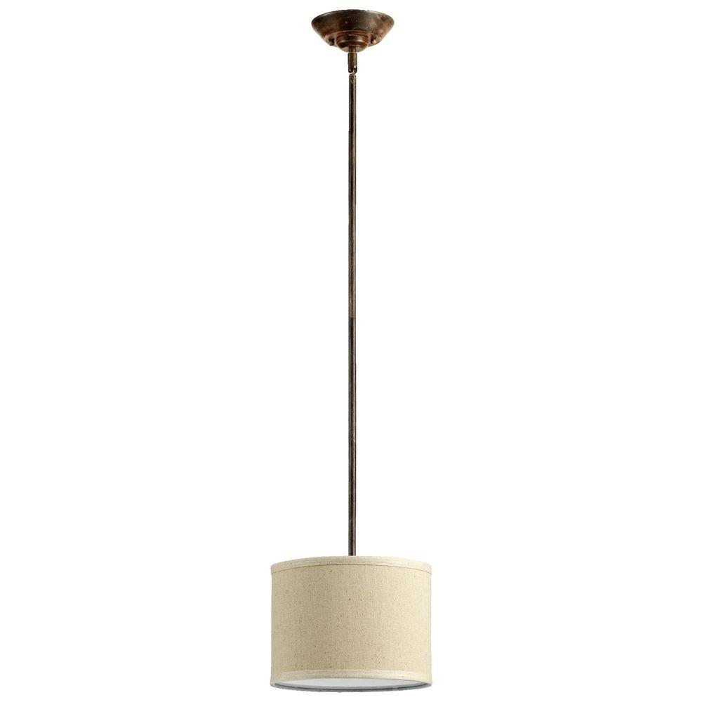 quorum lighting telluride early american mini pendant