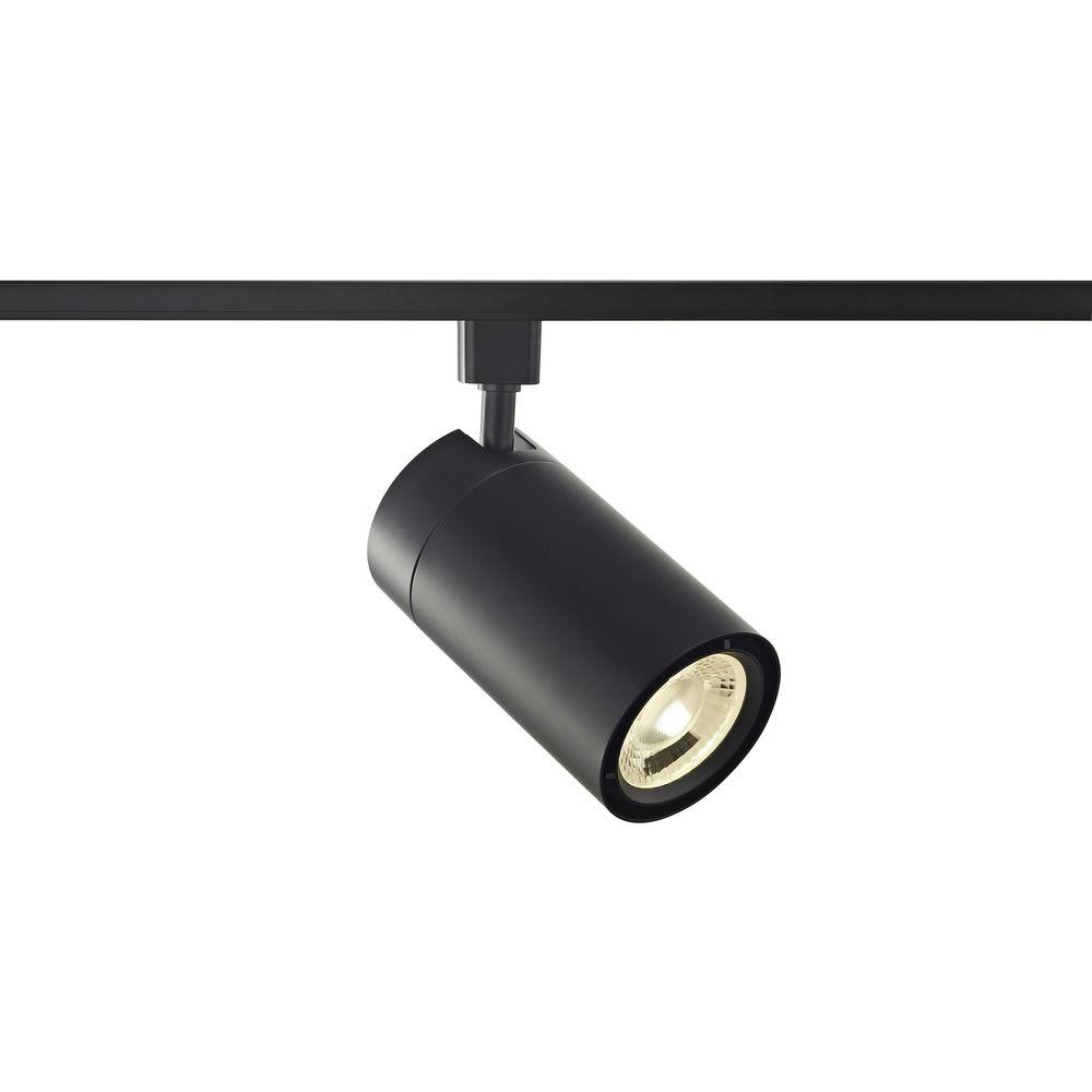 Black Track Lighting Au: Black LED Track Head Cylinder Light For Halo Track Systems