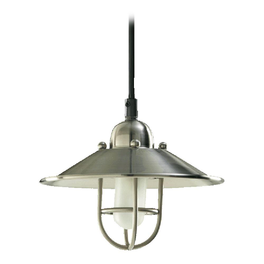 quorum lighting satin nickel mini pendant light 1310 65