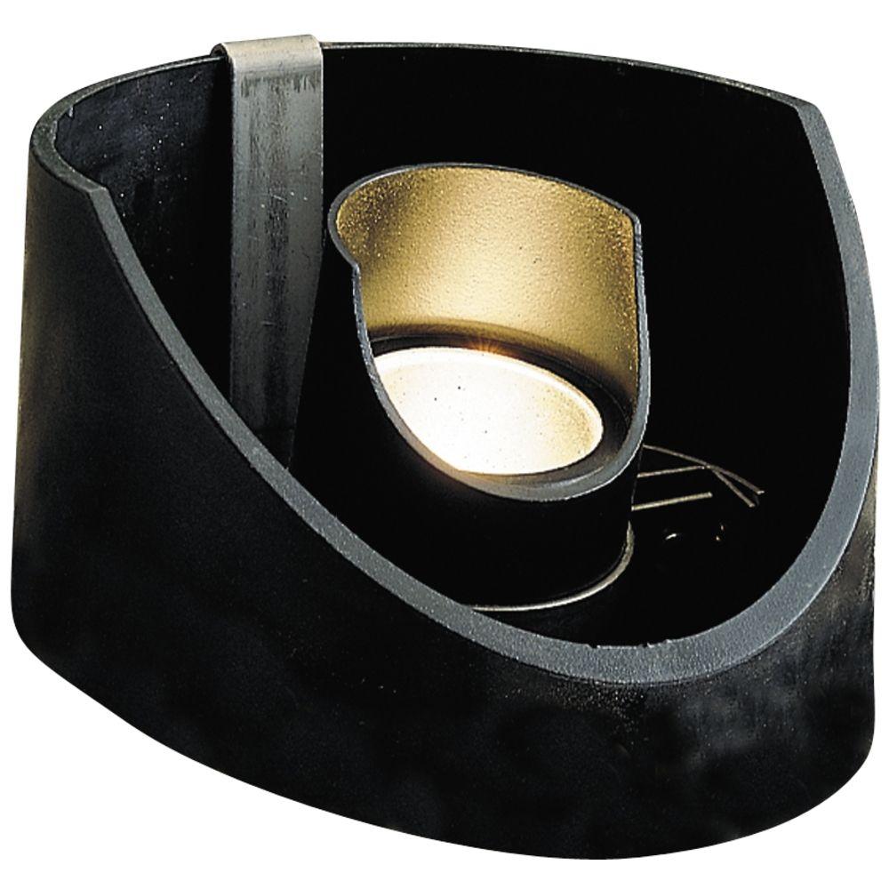 kichler adjustable low voltage well light 15092bkt. Black Bedroom Furniture Sets. Home Design Ideas
