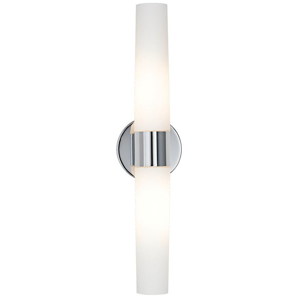 Bath Art Chrome Bathroom Light - Vertical or Horizontal Mounting ...