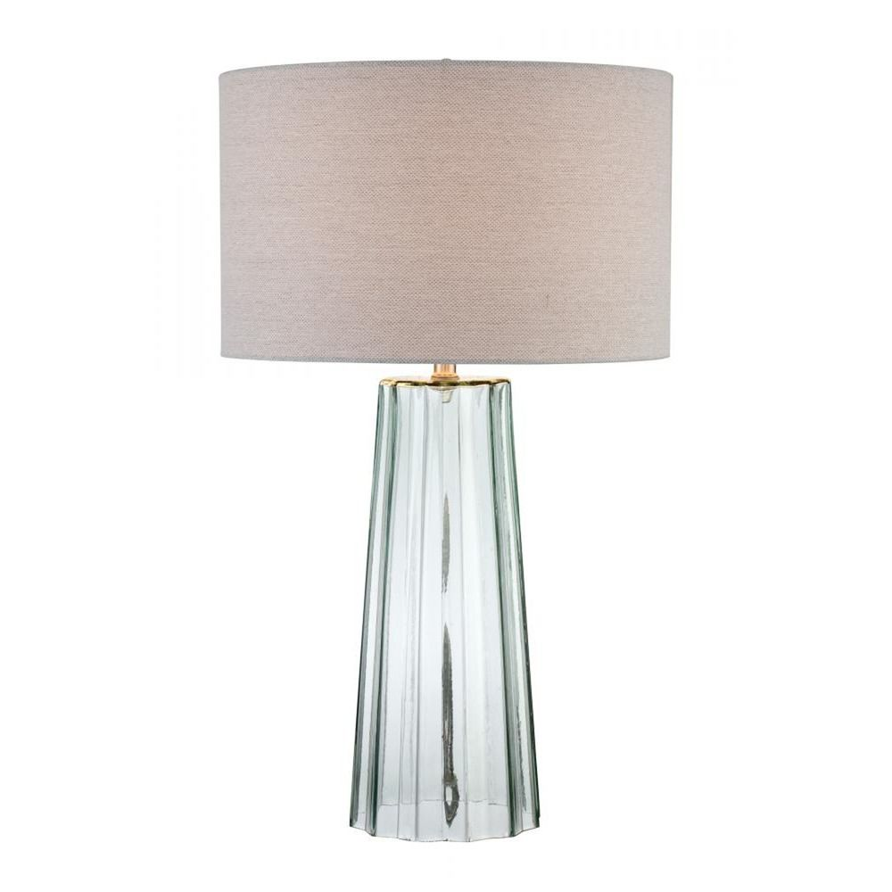 Rogelio Table Lamp With Drum Shade