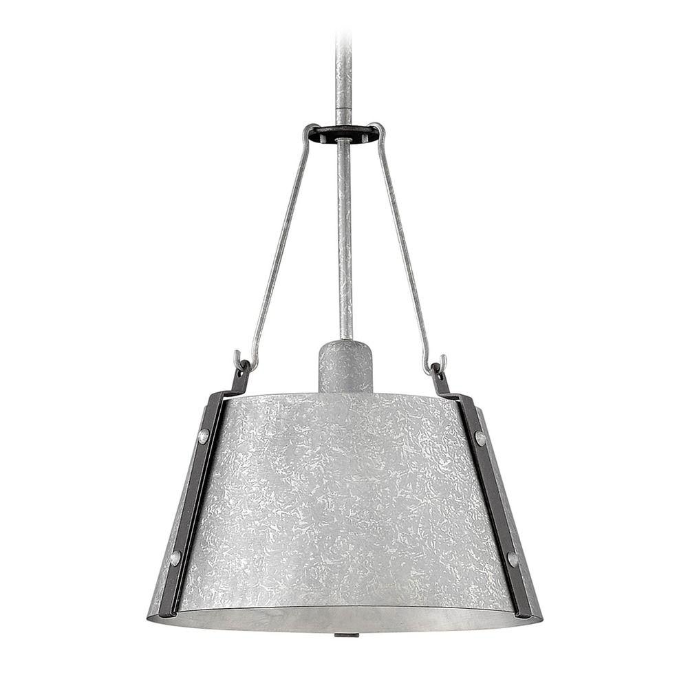 Items Similar To Galvanized Light Rustic Industrial: Industrial Galvanized Pendant Light By Hinkley Lighting