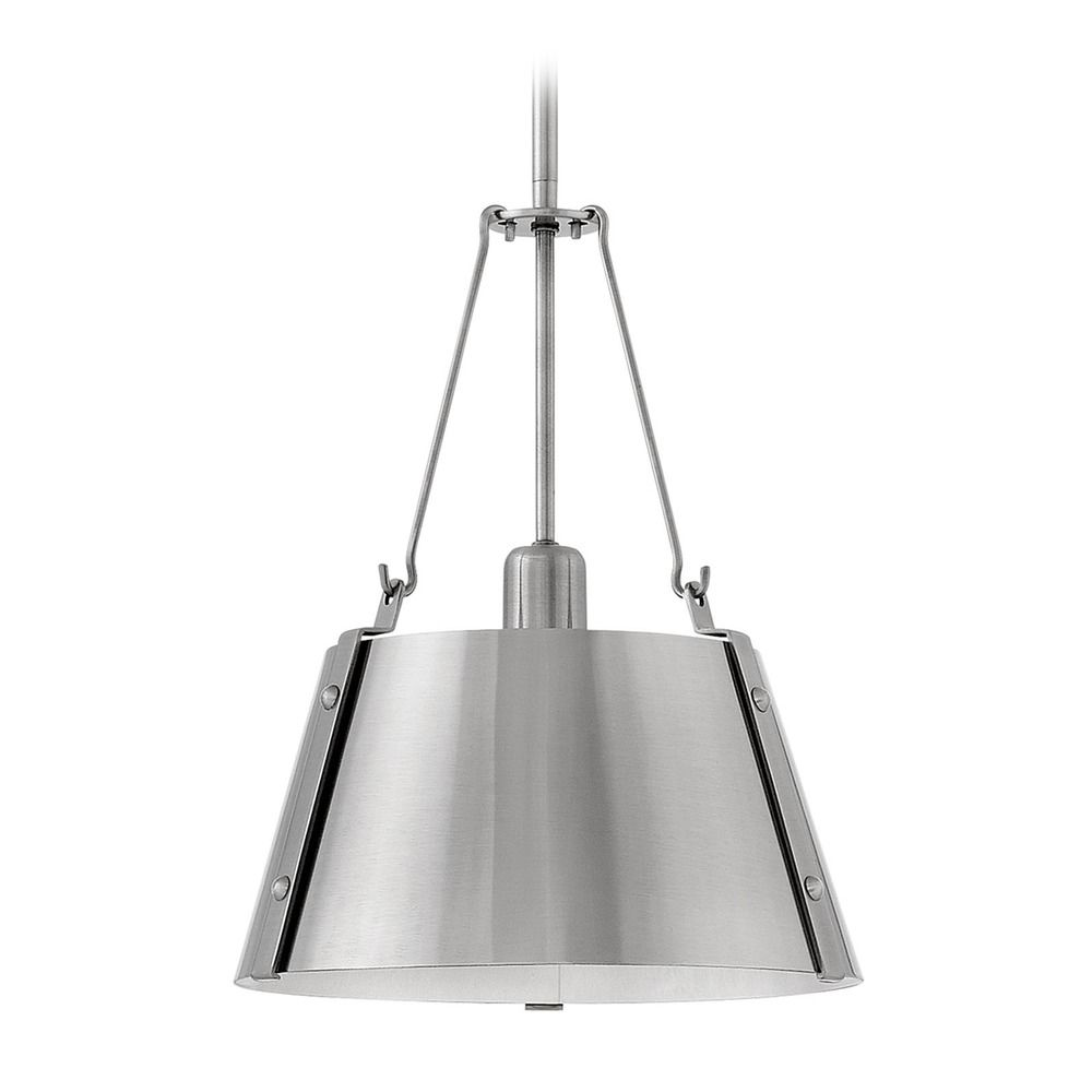 industrial track lighting industrial track lighting zoom. Hinkley Lighting Industrial Polished Antique Nickel Pendant Light By 3397PL. Hover Or Click To Zoom Track