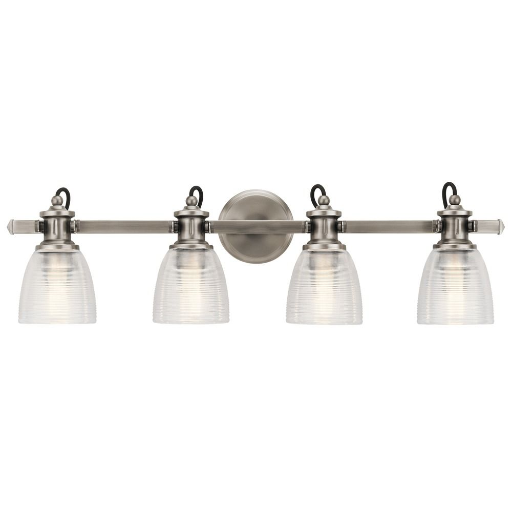 Marine Nautical Bathroom Light Pewter
