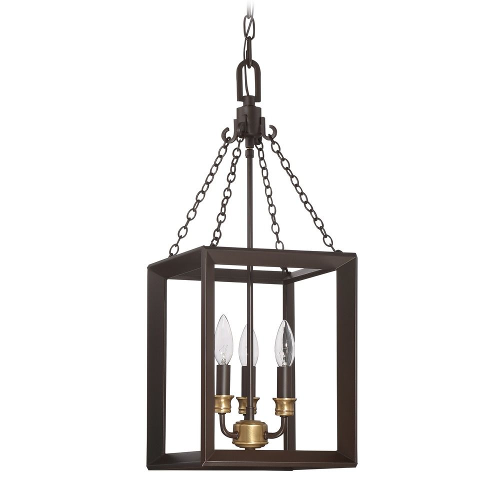 Quoizel Lighting Brook Hall Western Bronze Mini-Pendant