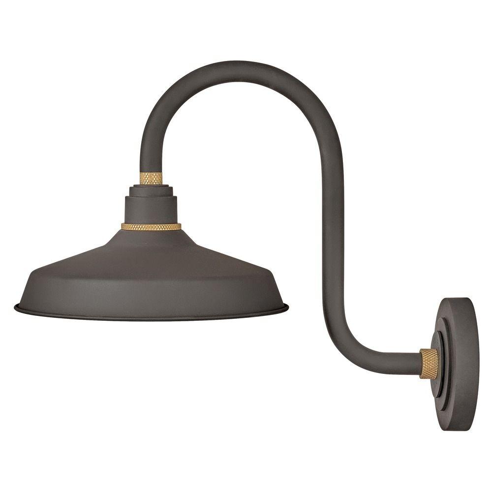 Hinkley Lighting Foundry Museum Bronze / Brass Barn Light
