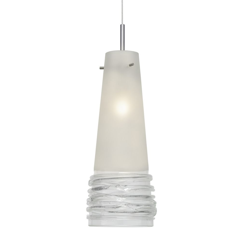 Oggetti lighting 29 104b murano mini pendant light with clear art hover or click to zoom aloadofball Images
