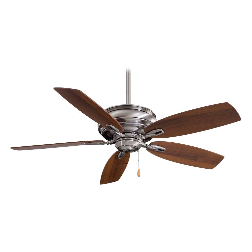 Ceiling Fan Without Light In Pewter Finish F614 Pw