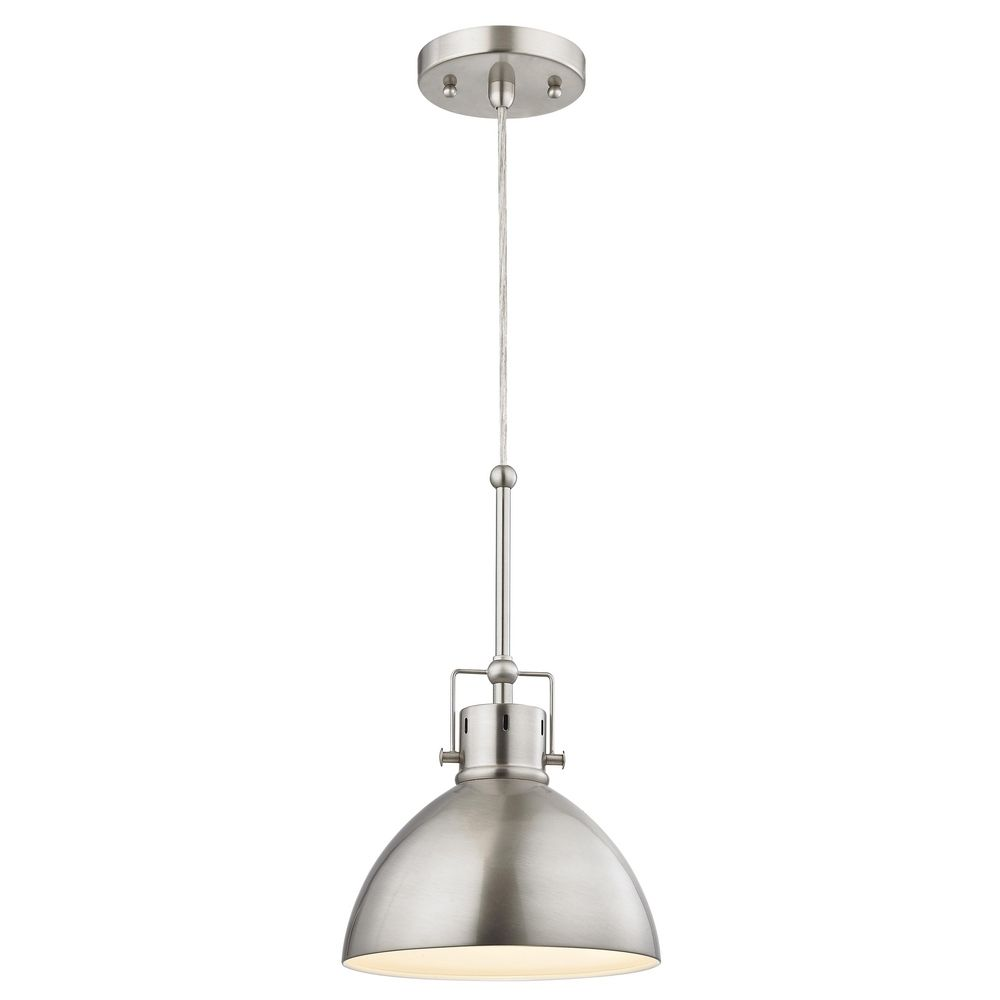 Industrial Mariner Satin Nickel Mini Pendant Light 2038