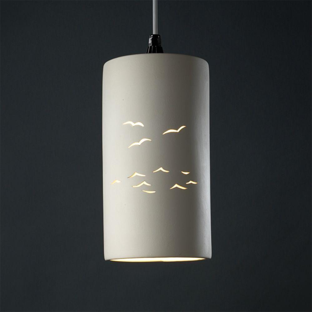 Mini Pendant Light With White Shade At Destination Lighting