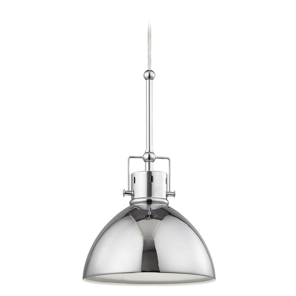 Chrome Dome Metal Pendant Light off.  sc 1 st  Destination Lighting & Chrome Dome Metal Pendant Light | 2038-1-26 | Destination Lighting azcodes.com