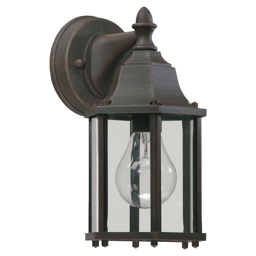 Quorum Lighting Rust Outdoor Wall Light
