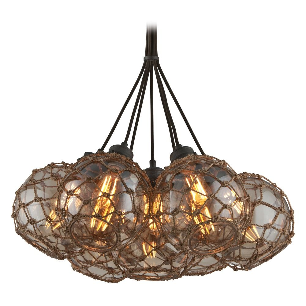 Troy Lighting Outter Banks Shipyard Bronze Pendant Light