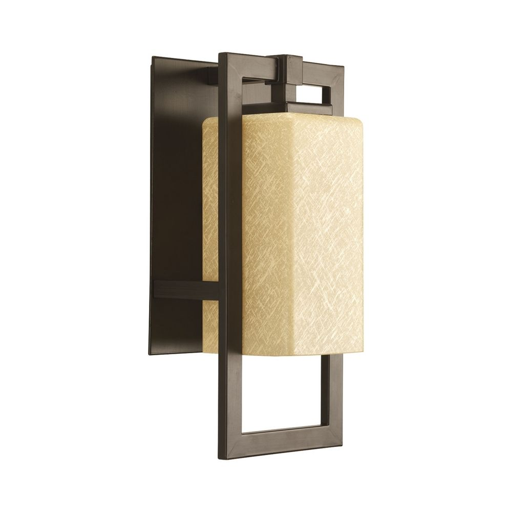 Bronze Finish Wall Lights : Progress Modern Outdoor Wall Light in Bronze Finish P5948-20 Destination Lighting