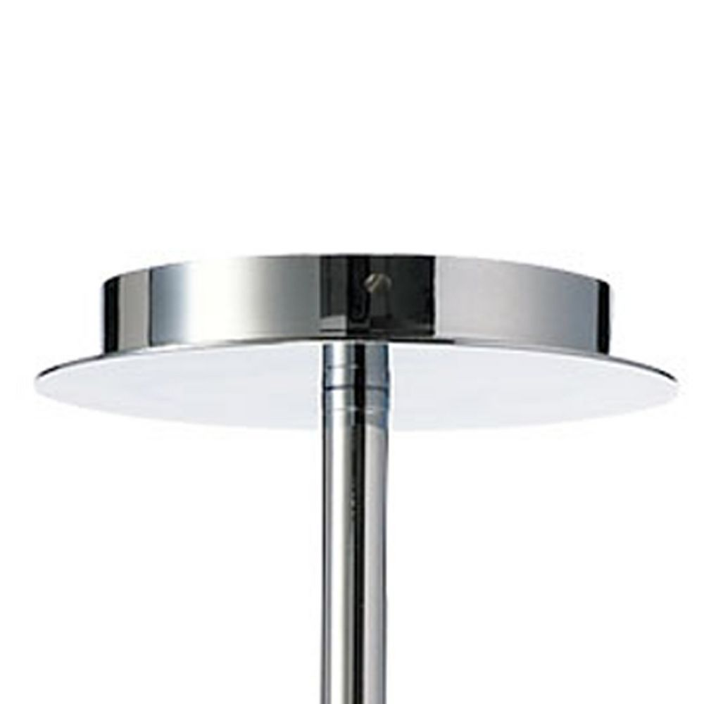 cyan design janus chrome clear pendant light with globe. Black Bedroom Furniture Sets. Home Design Ideas