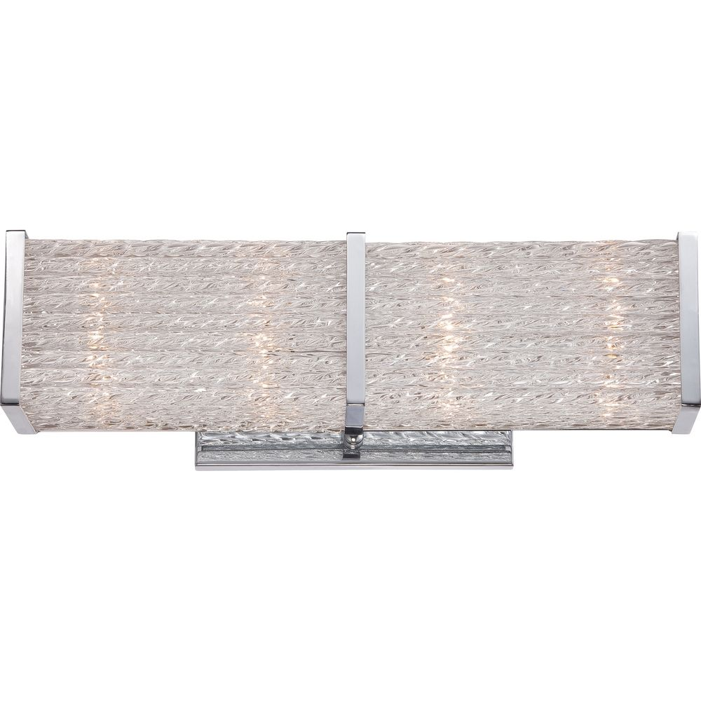 Quoizel Paragon Polished Chrome Bathroom Light Prn8604c Destination Lighting