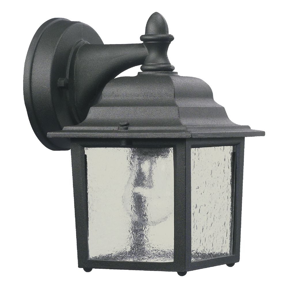 Quorum Lighting Black Outdoor Wall Light
