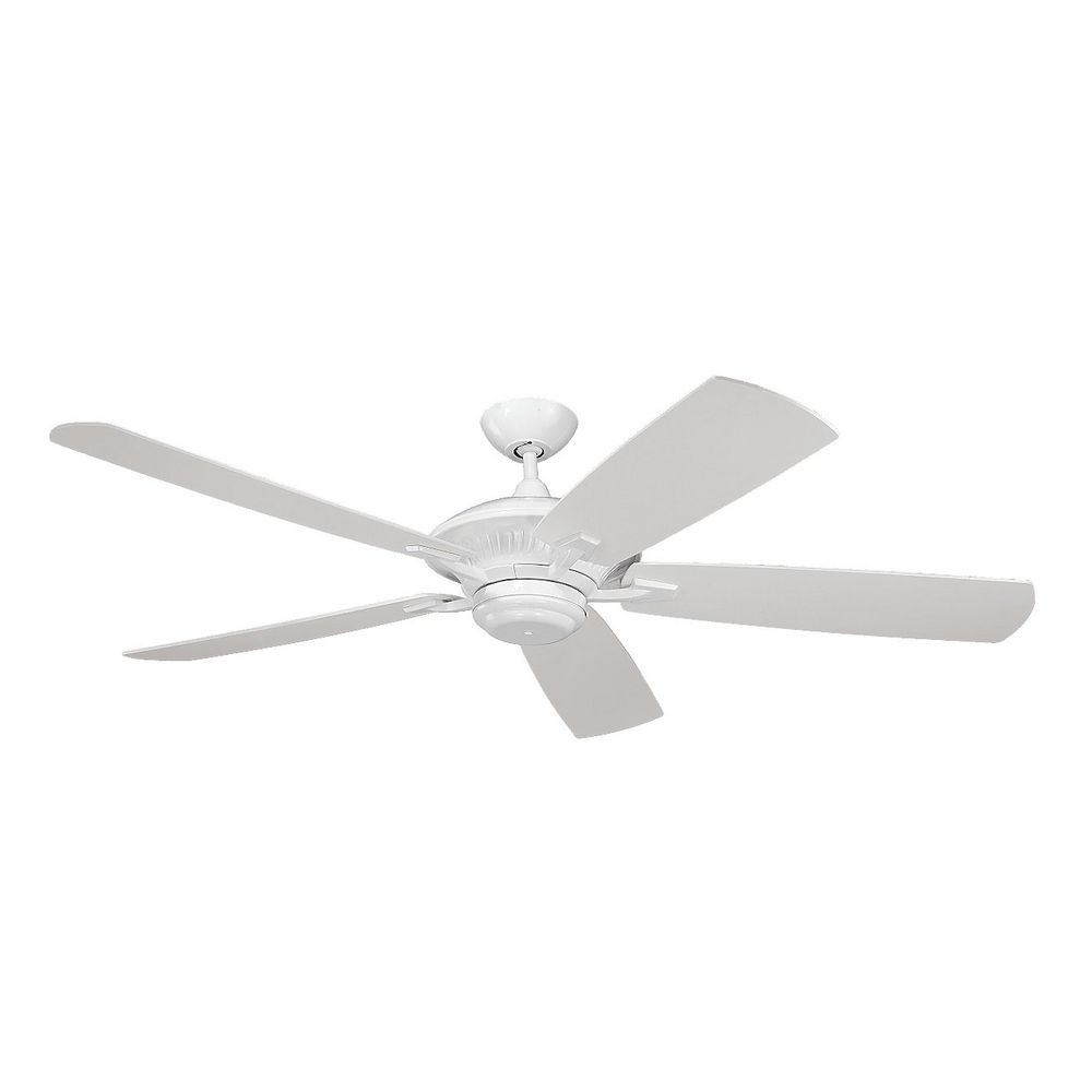 Ceiling Fan Without Light In White Finish 5cy60wh