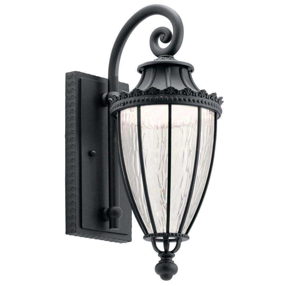 Kichler Lights Outdoor: Kichler Lighting Wakefield Textured Black LED Outdoor Wall