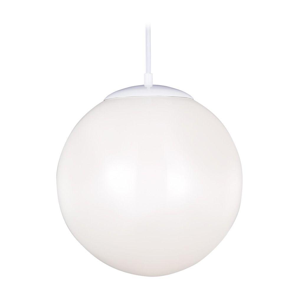sea gull lighting hanging globe white led pendant light