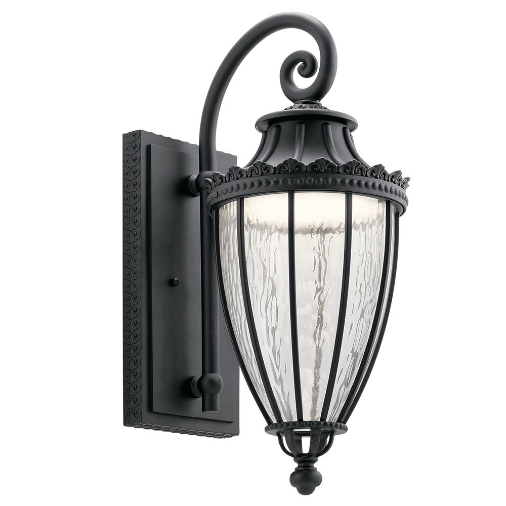 Kichler Lighting Wakefield Textured Black LED Outdoor Wall