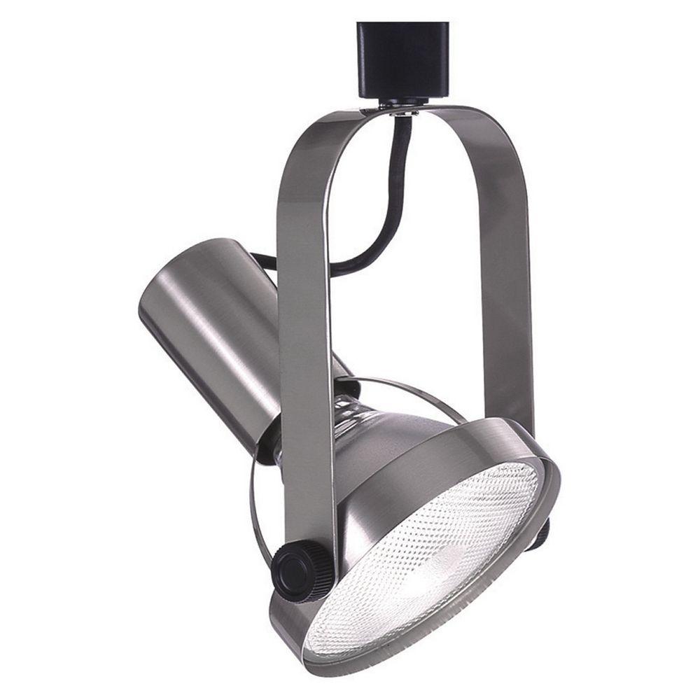 WAC Lighting Brushed Nickel Track Light For L-Track