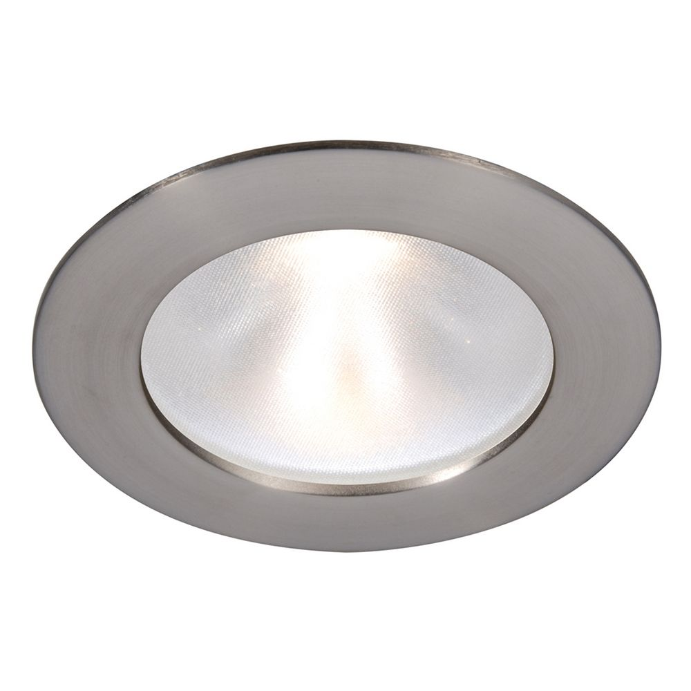 "WAC Lighting 3 5"" Round Reflector Brushed Nickel LED"