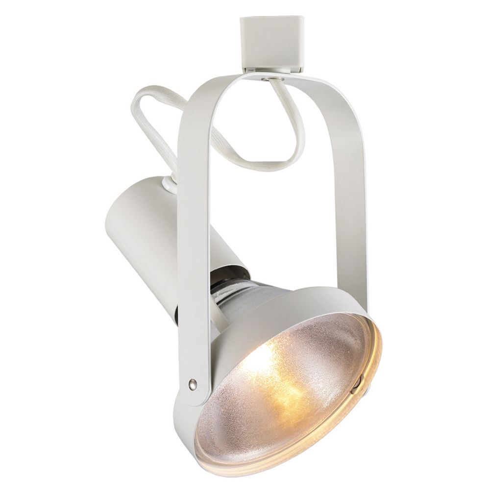 Wac Track Lighting: Wac Lighting White Track Light Head