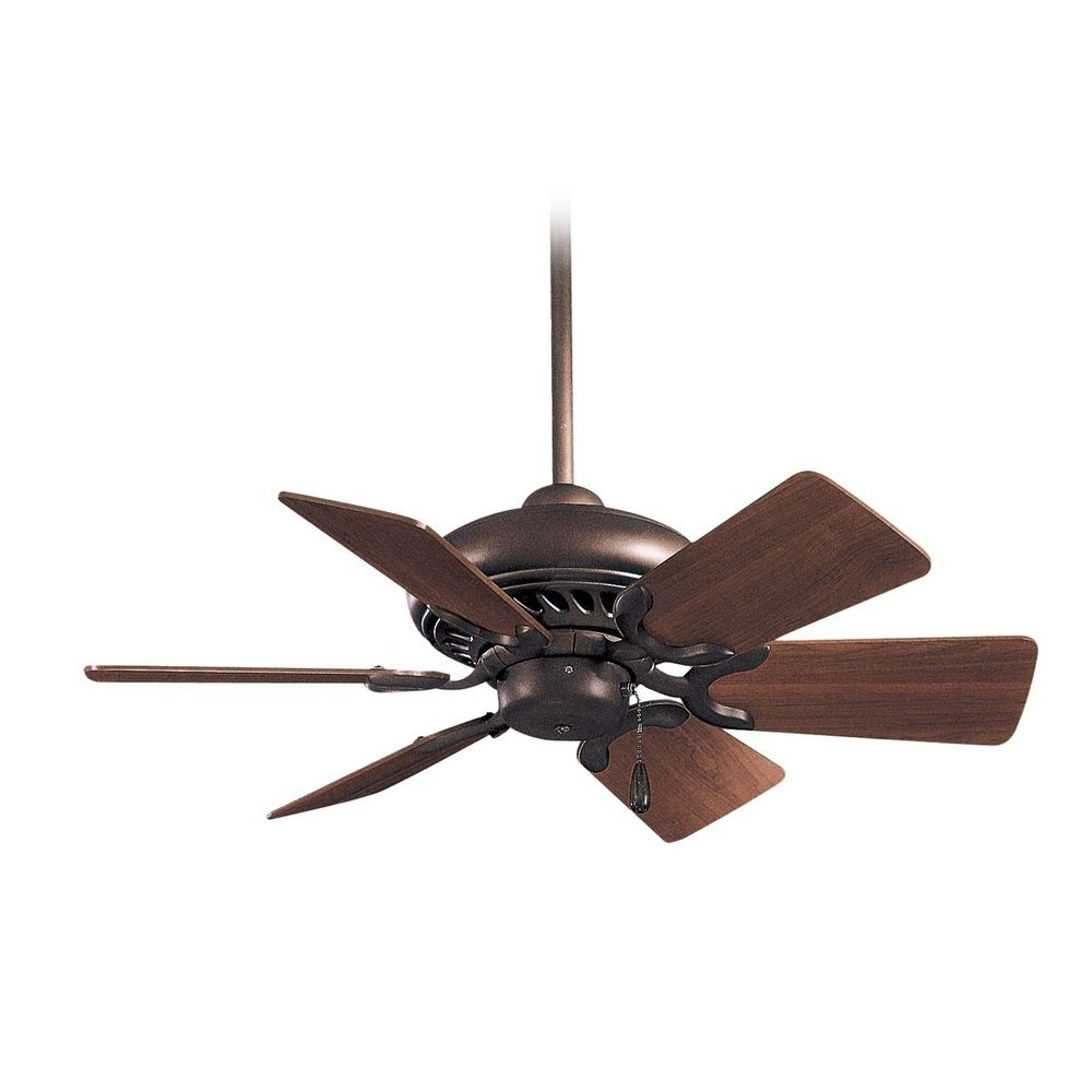 Minka Aire 32 Inch Ceiling Fan Without Light In Oil Rubbed Bronze Finish F562