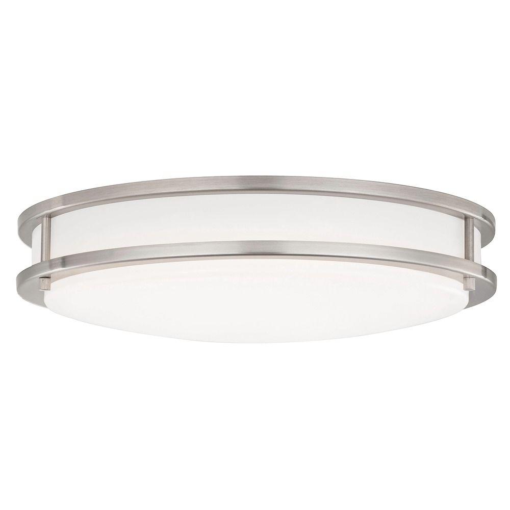 Led flush ceiling light satin nickel 17 inch 3016 90 09 design classics lighting led flush ceiling light satin nickel 17 inch 3016 90 aloadofball Images