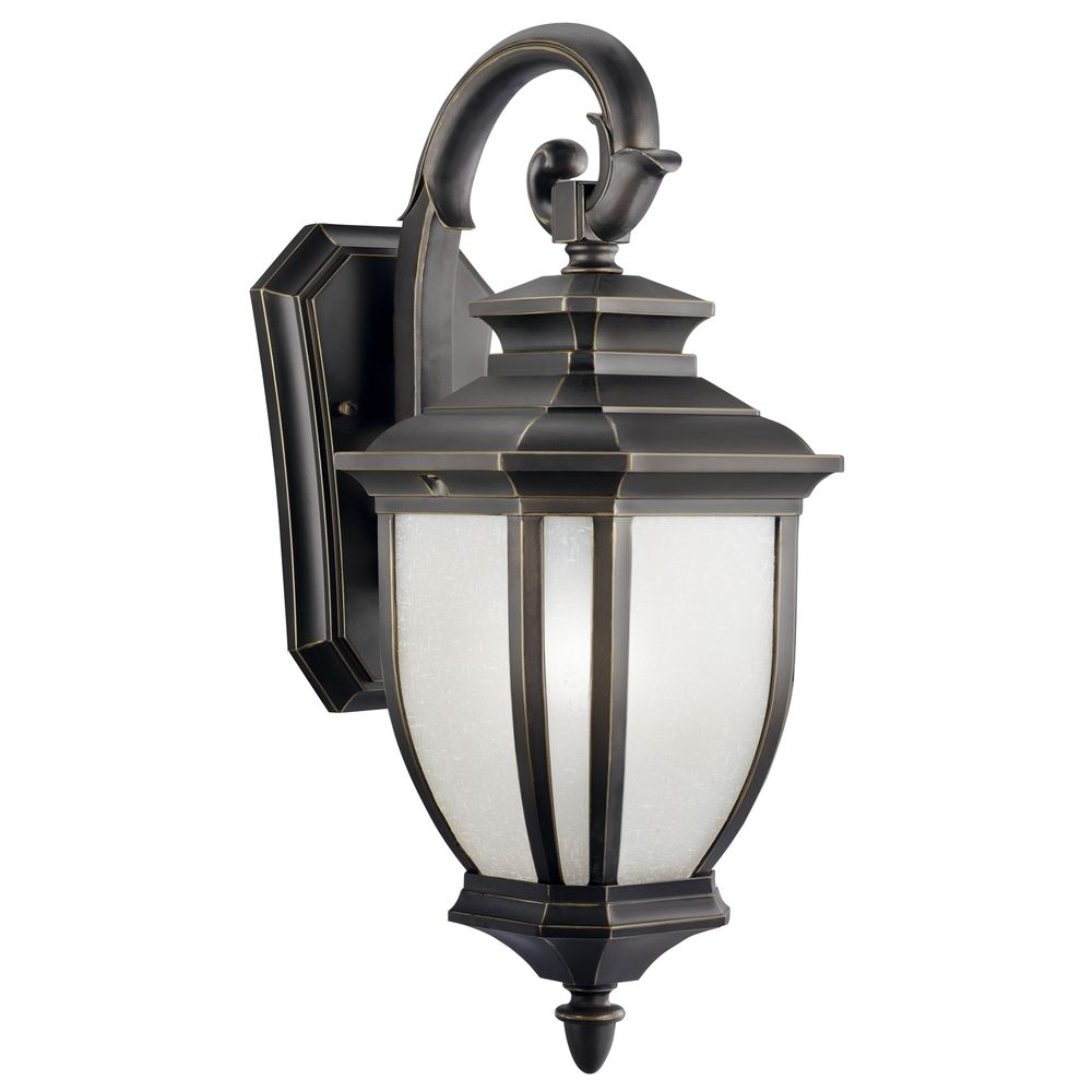 kichler 19 inch outdoor wall light 9040rz destination lighting. Black Bedroom Furniture Sets. Home Design Ideas