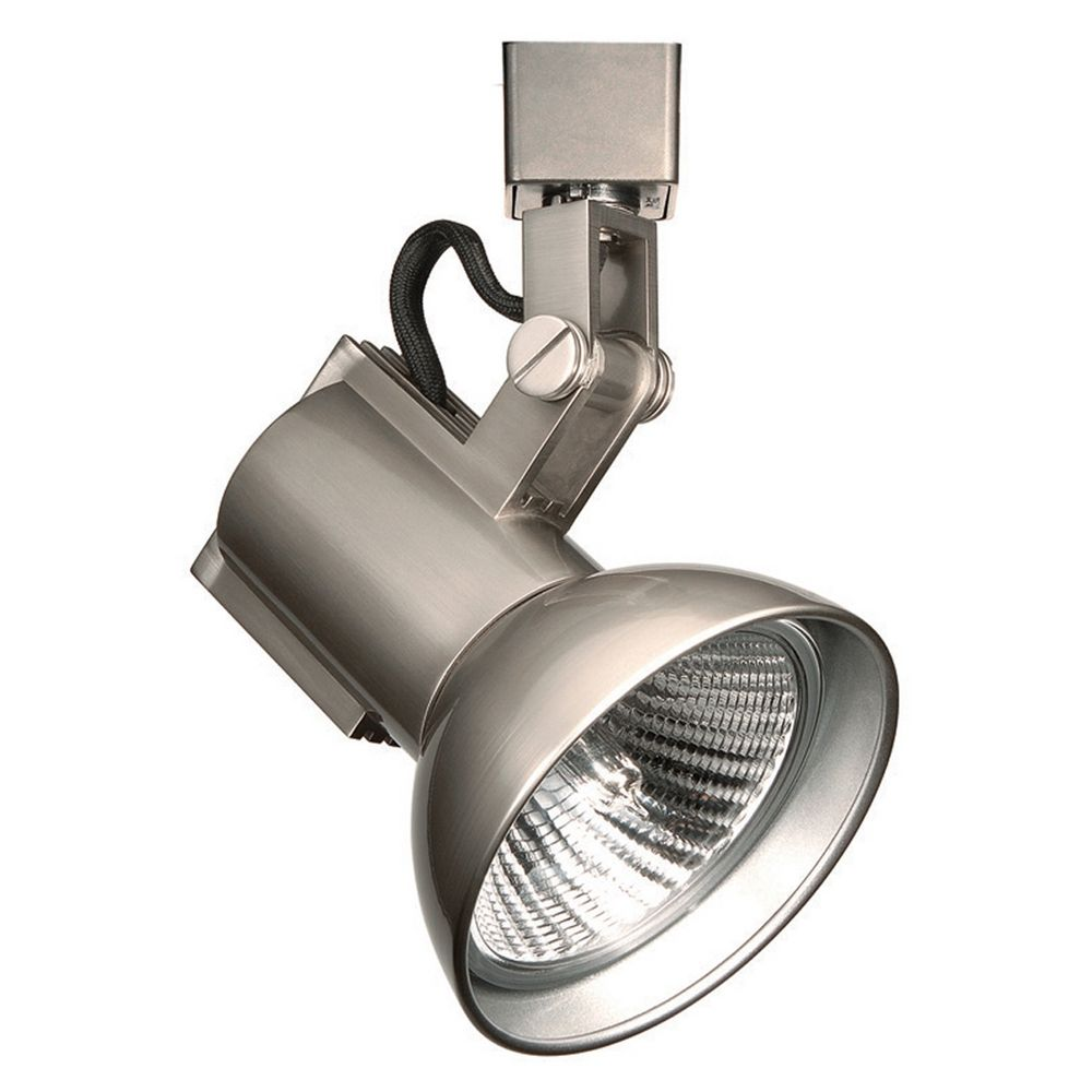 Wac Track Lighting: Wac Lighting Brushed Nickel Track Light Head
