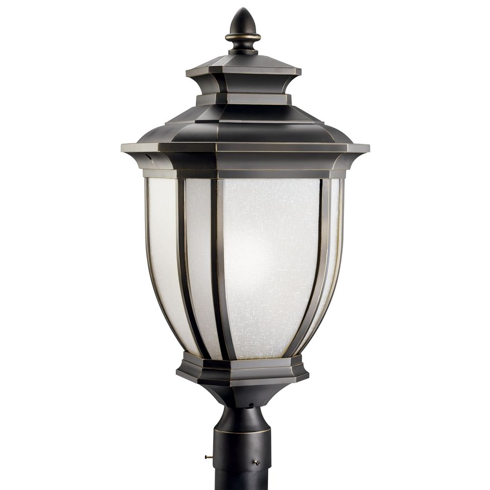 Kichler oversize outdoor post light 9940rz destination for Outdoor post lights