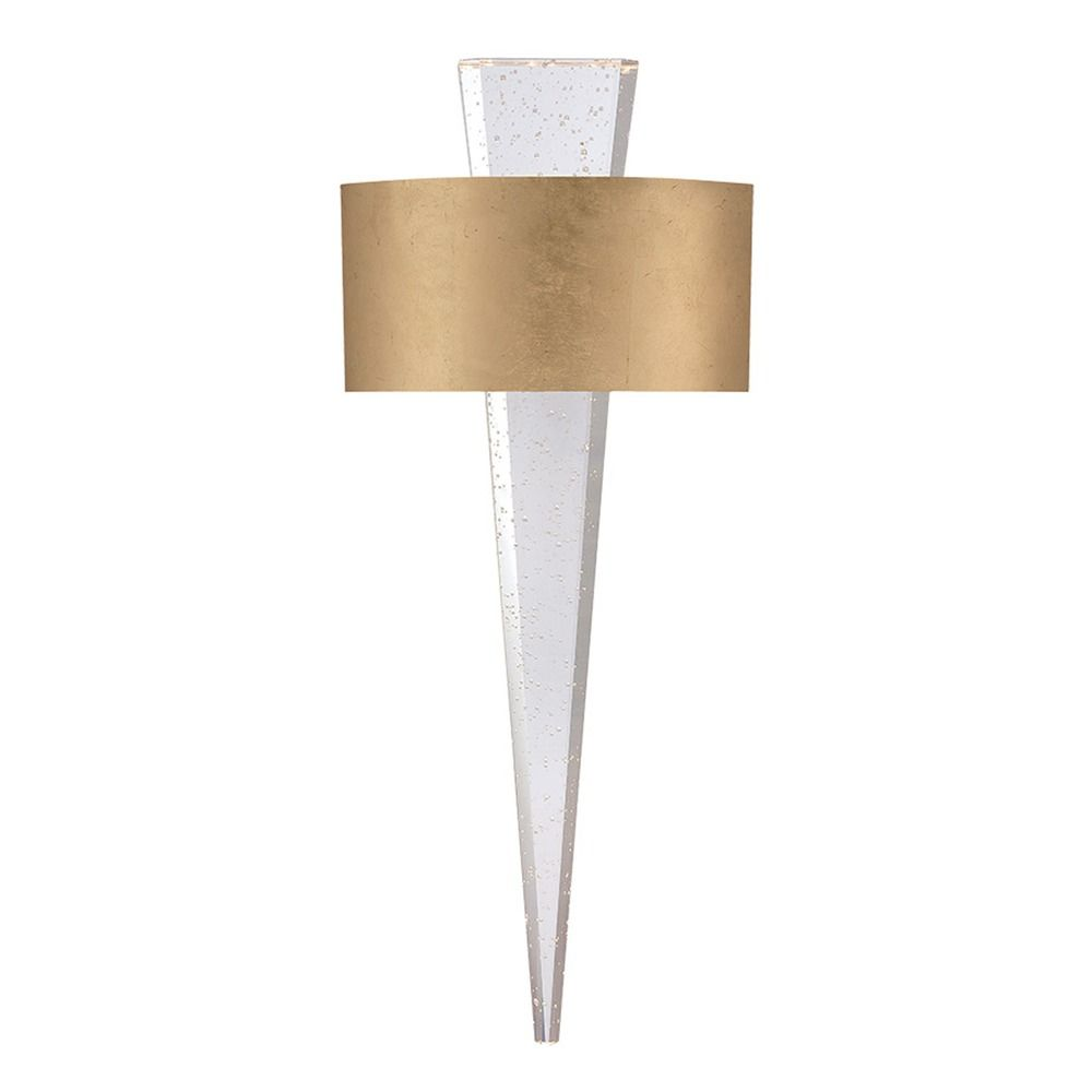 Palladian Led Wall Sconce With Seeded