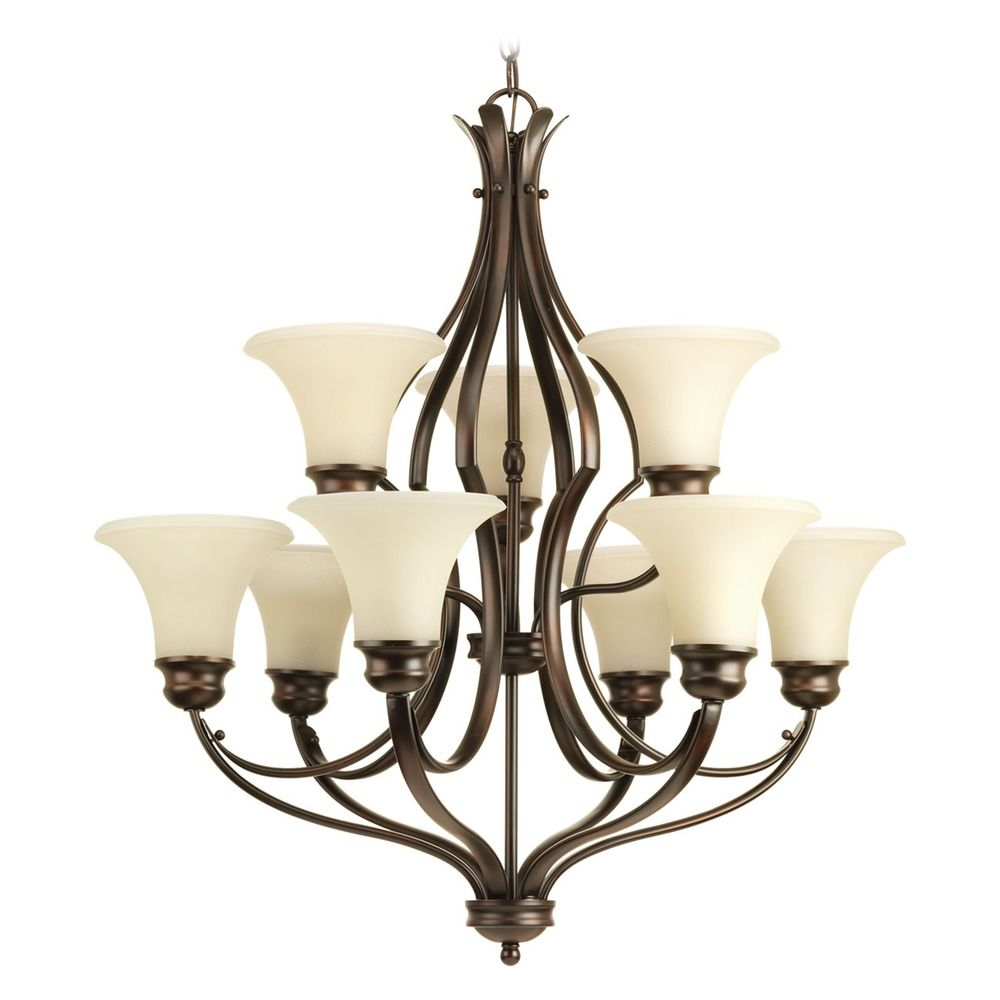 Progress Lighting Applause Antique Bronze Chandelier