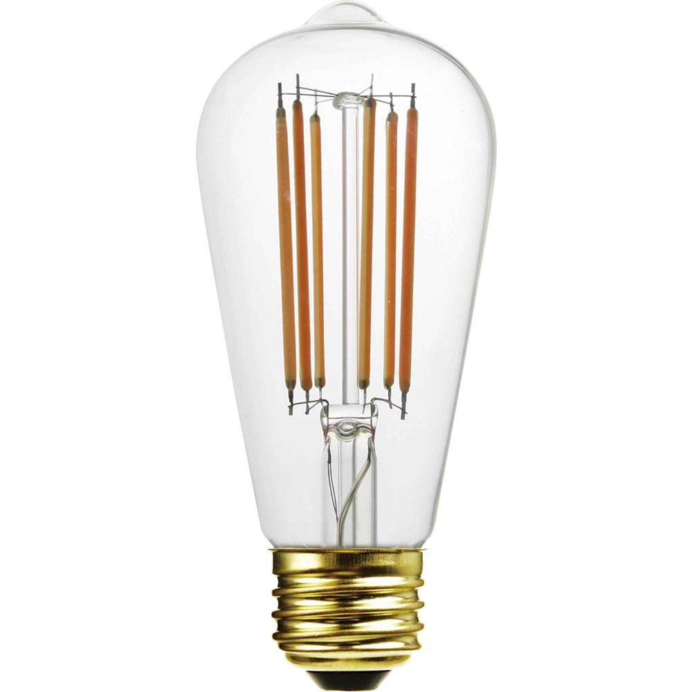 st58 led light bulb with decorative filament 15 watts equivalent 3st58cl 2000k destination. Black Bedroom Furniture Sets. Home Design Ideas
