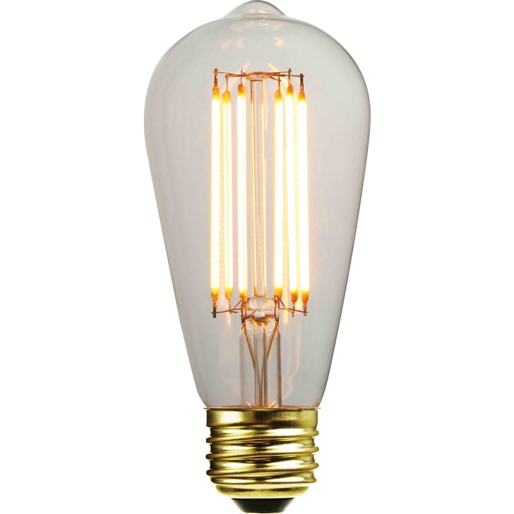 ST58 LED Light Bulb With Decorative Filament 15-Watts