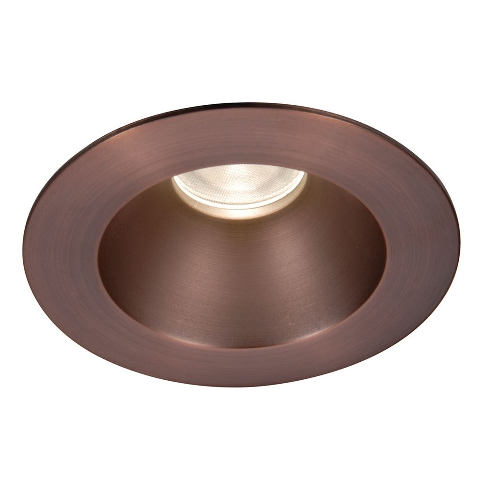 wac lighting 3 5 round reflector copper bronze led recessed trim hr 3. Black Bedroom Furniture Sets. Home Design Ideas