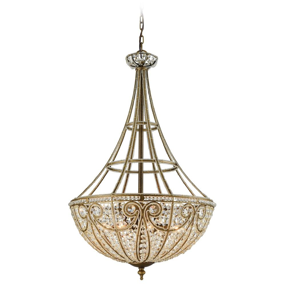 Elk Lighting Andalusia: Elk Lighting Elizabethan Dark Bronze Pendant Light