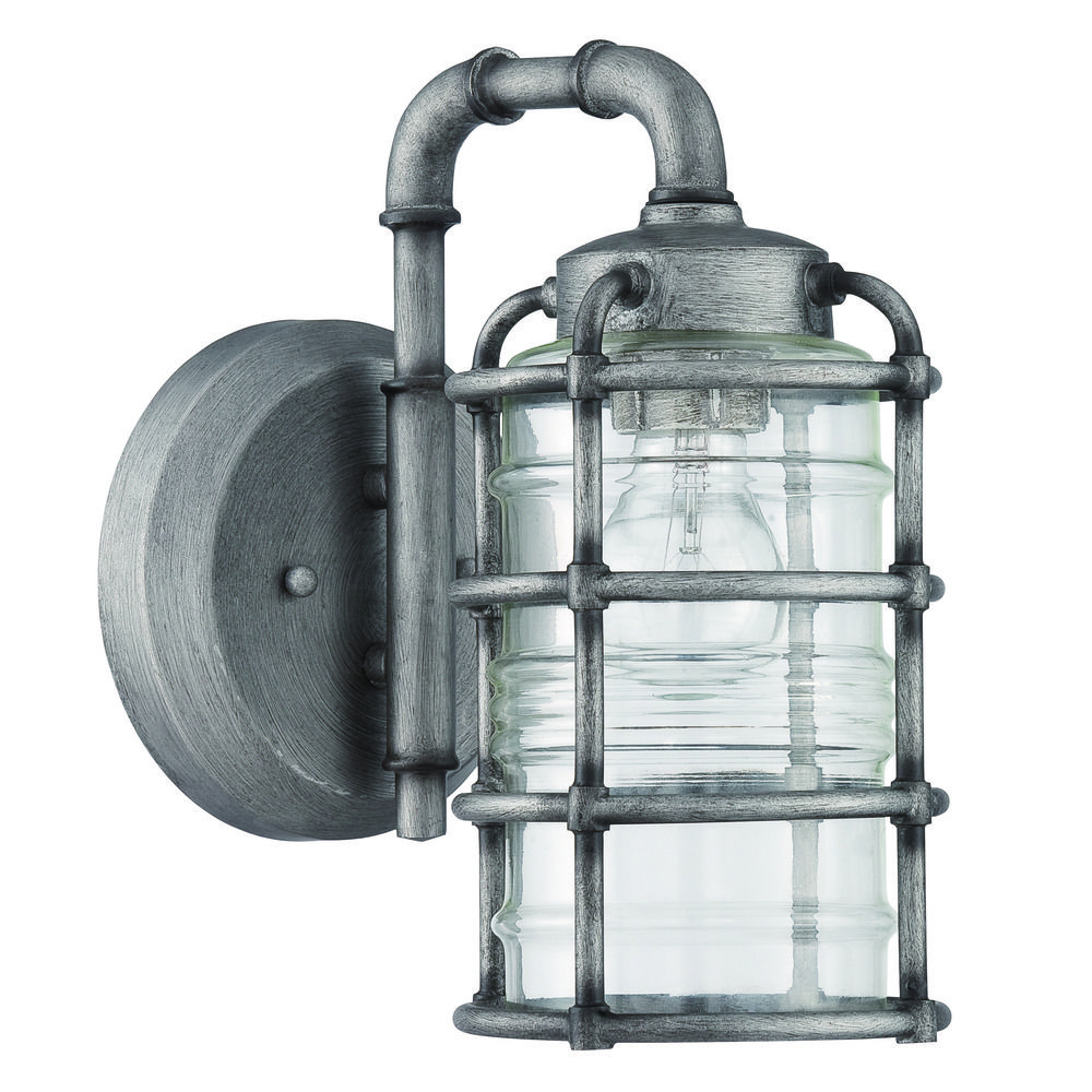 Craftmade Lighting Hadley Aged Galvanized Outdoor Wall Light Z2114 16 Des
