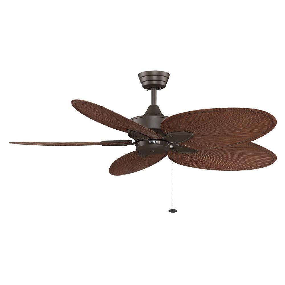 Ceiling Fans Without Lights : Fanimation fans windpointe oil rubbed bronze ceiling fan