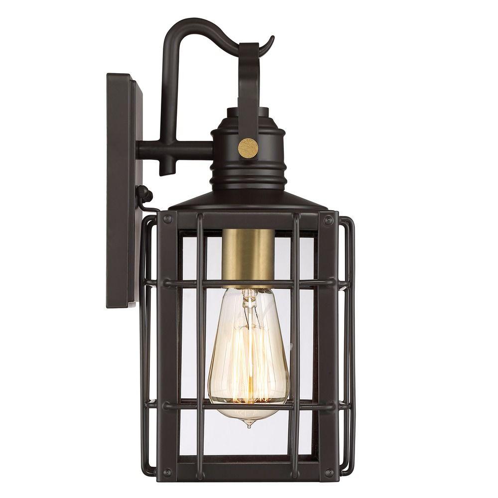 quoizel lighting west oak western bronze outdoor wall light
