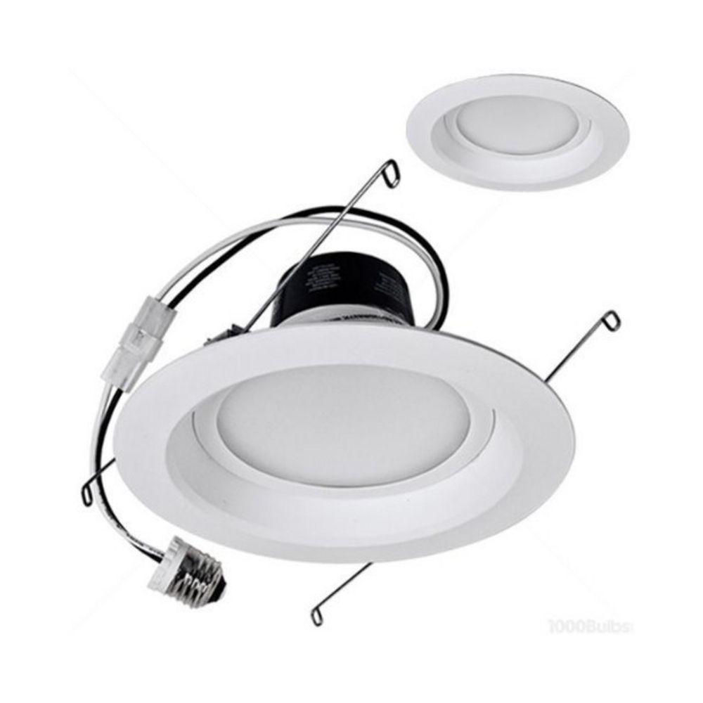 LED Retrofit 6-Inch Recessed Trim