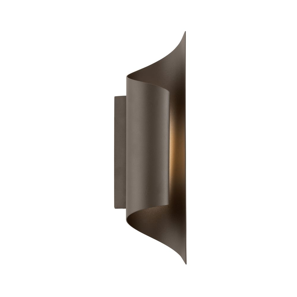 Bronze Finish Wall Lights : Modern LED Outdoor Wall Light in Bronze Finish BL3381BZ Destination Lighting