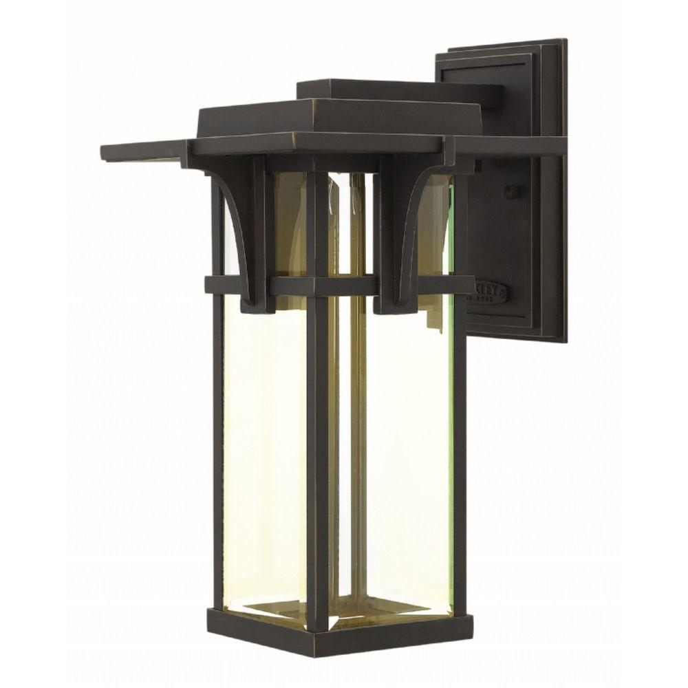 Hinkley Outdoor Wall Light: Hinkley Lighting Manhattan LED Outdoor Wall Light