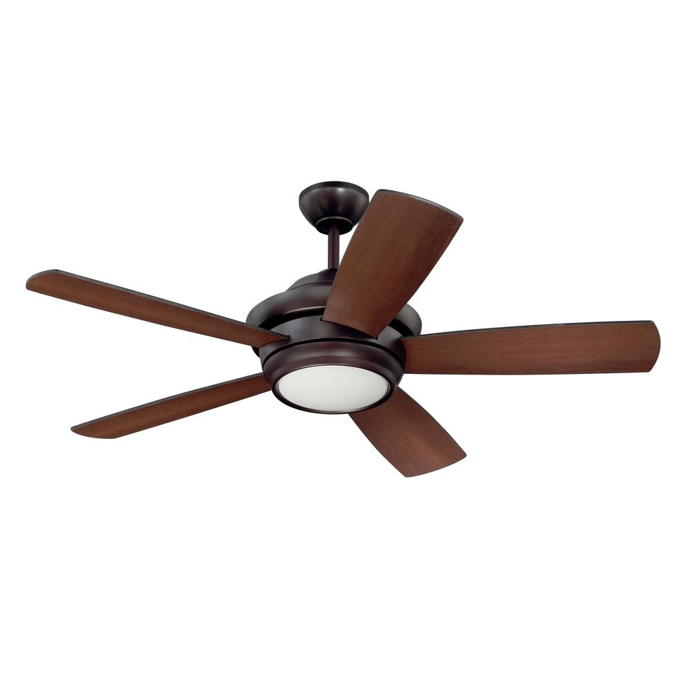 craftmade lighting tempo oiled bronze led ceiling fan with light. Black Bedroom Furniture Sets. Home Design Ideas
